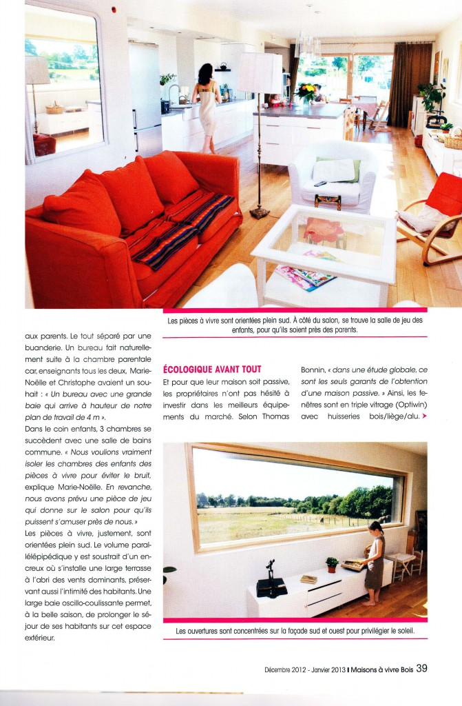 maison vivre magazine latest dans ce mme magazine beau reportage sur un ancien presbytre de. Black Bedroom Furniture Sets. Home Design Ideas